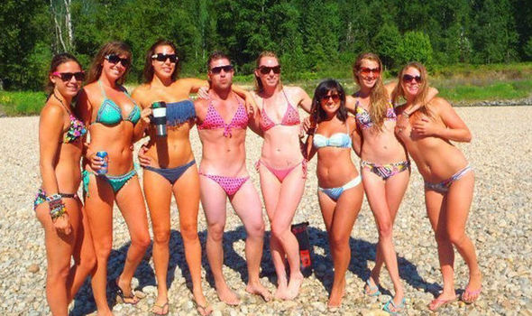 beach hot sex