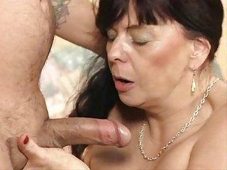 gorgeous couple having sex